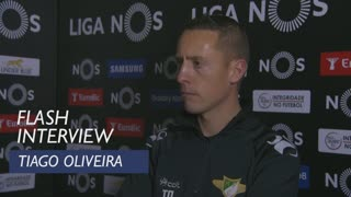 Liga (24ª): Flash interview Tiago Oliveira