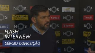Liga (26ª): Flash interview Sérgio Conceição