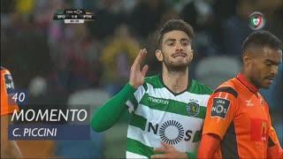 Sporting CP, Jogada, C. Piccini aos 40'