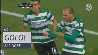 GOLO! Sporting CP, Bas Dost aos 66', Sporting CP 1-0 SC Braga