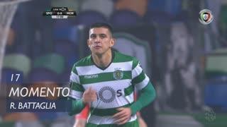 Sporting CP, Jogada, Rodrigo Battaglia aos 17'