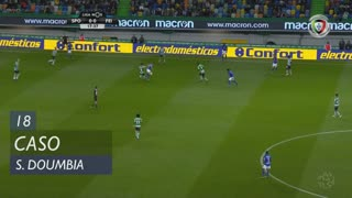 Sporting CP, Caso, S. Doumbia aos 19'