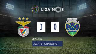 Liga NOS (19ªJ): Resumo SL Benfica 3-0 GD Chaves