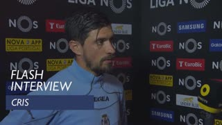 Liga (33ª): Flash interview Cris