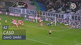 Boavista FC, Caso, David Simão aos 62'
