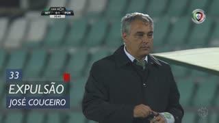 Vitória FC, Expulsão, José Couceiro aos 33'