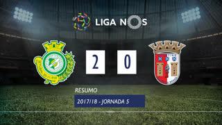 Liga NOS (5ªJ): Resumo Vitória FC 2-0 SC Braga