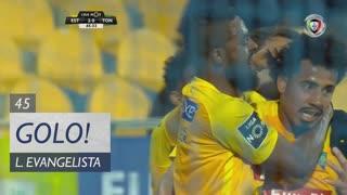 GOLO! Estoril Praia, Lucas Evangelista aos 45', Estoril Praia 2-0 CD Tondela