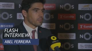 Liga (21ª): Flash interview Abel Ferreira