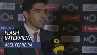 Liga (21ª): Flash interview Abel Ferreira