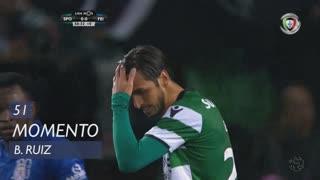 Sporting CP, Jogada, B. Ruiz aos 45'+6'