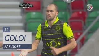 GOLO! Sporting CP, Bas Dost aos 32', Marítimo M. 1-1 Sporting CP