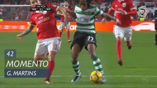 Sporting CP, Jogada, Gelson Martins aos 42'