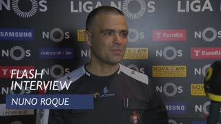 Liga (34ª): Flash interview Nuno Roque