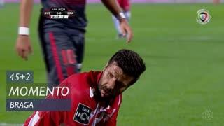 CD Aves, Jogada, Braga aos 45'+2'
