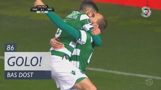 GOLO! Sporting CP, Bas Dost aos 86', GD Chaves 0-2 Sporting CP