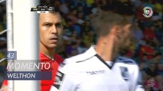 FC P.Ferreira, Jogada, Welthon aos 43'
