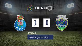 Liga NOS (5ªJ): Resumo FC Porto 3-0 GD Chaves