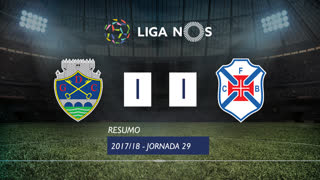 Liga NOS (29ªJ): Resumo GD Chaves 1-1 Belenenses SAD