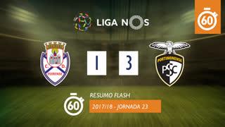 Liga NOS (23ªJ): Resumo Flash CD Feirense 1-3 Portimonense