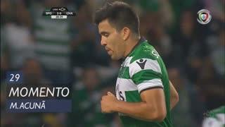 Sporting CP, Jogada, M. Acuña aos 29'