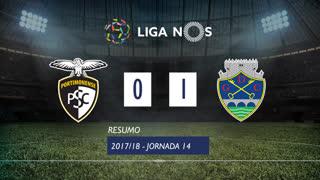 Liga NOS (14ªJ): Resumo Portimonense 0-1 GD Chaves