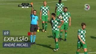 Moreirense FC, Expulsão, André Micael aos 69'