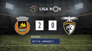 I Liga (3ªJ): Resumo Rio Ave FC 2-0 Portimonense
