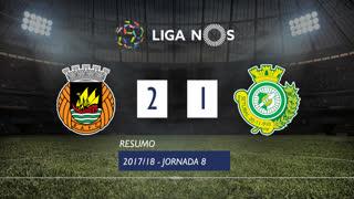 Liga NOS (8ªJ): Resumo Rio Ave FC 2-1 Vitória FC