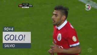 GOLO! SL Benfica, Salvio aos 90'+4', SL Benfica 2-3 CD Tondela