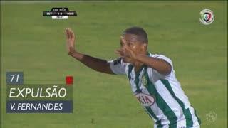 Vitória FC, Expulsão, Vasco Fernandes aos 71'
