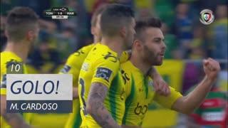 GOLO! CD Tondela, Miguel Cardoso aos 10', CD Tondela 1-0 Marítimo M.
