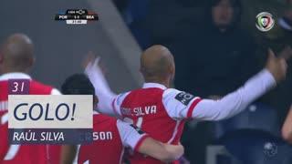 GOLO! SC Braga, Raúl Silva aos 31', FC Porto 1-1 SC Braga