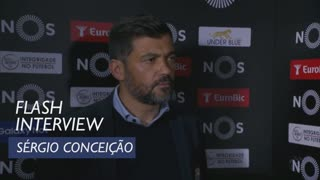 Liga (24ª): Flash interview Sérgio Conceição