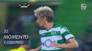 Sporting CP, Jogada, Fábio Coentrão aos 32'