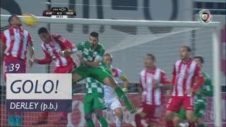 GOLO! Moreirense FC, Derley (p.b.) aos 39', CD Aves 0-2 Moreirense FC