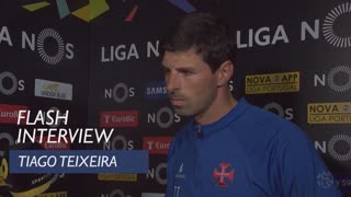 Liga (30ª): Flash interview Tiago Teixeira