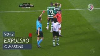 Sporting CP, Expulsão, Gelson Martins aos 90'+2'