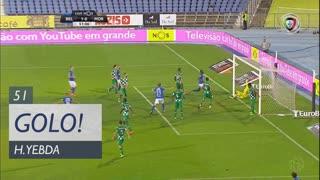 GOLO! Belenenses SAD, H. Yebda aos 51', Belenenses SAD 2-0 Moreirense FC