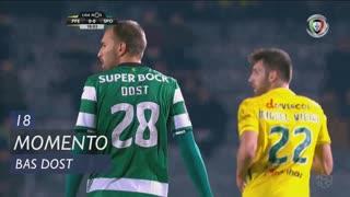 Sporting CP, Jogada, Bas Dost aos 18'