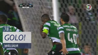 Sporting CP, William aos 78', Sporting CP 1-0 CD Feirense