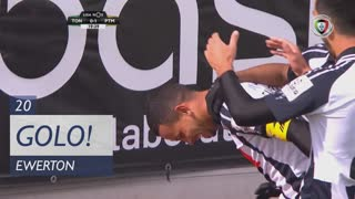 GOLO! Portimonense, Ewerton aos 20', CD Tondela 0-1 Portimonense