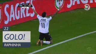 GOLO! Vitória SC, Raphinha aos 22', FC Porto 0-1 Vitória SC