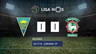 Liga NOS (29ªJ): Resumo Estoril Praia 1-1 Marítimo M.