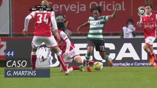 Sporting CP, Caso, Gelson Martins aos 44'