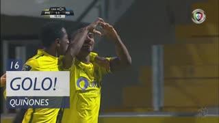 GOLO! FC P.Ferreira, Quiñones aos 16', FC P.Ferreira 1-1 CD Feirense