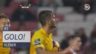 GOLO! Estoril Praia, Kléber aos 45', SL Benfica 2-1 Estoril Praia