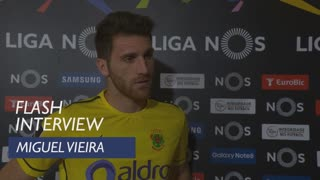 Liga (24ª): Flash interview Miguel Vieira