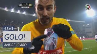 GOLO! Estoril Praia, André Claro aos 45'+3', Vitória SC 1-1 Estoril Praia