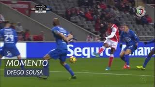 SC Braga, Jogada, Dyego Sousa aos 5'